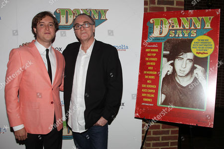 Stock Image of Brendan Toller (Director) and Eamonn Bowles (Pres; Magnolia Pictures)