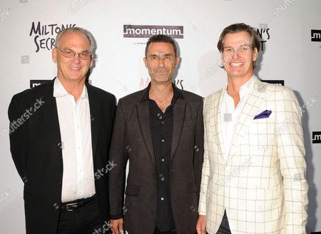 L-R: Fred Fuchs, Barnet Bain, Sean Buckley