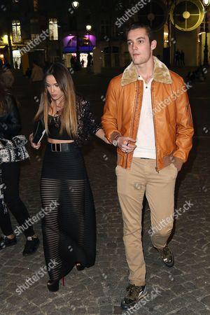 Louis Sarkozy and girlfriend Capucine Anav