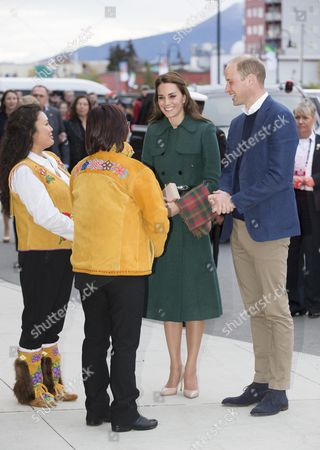 Editorial photo of The Duke and Duchess of Cambridge visit Canada - 27 Sep 2016