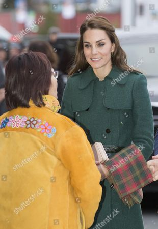 Editorial image of The Duke and Duchess of Cambridge visit Canada - 27 Sep 2016