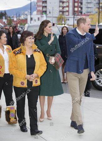 Editorial picture of The Duke and Duchess of Cambridge visit Canada - 27 Sep 2016
