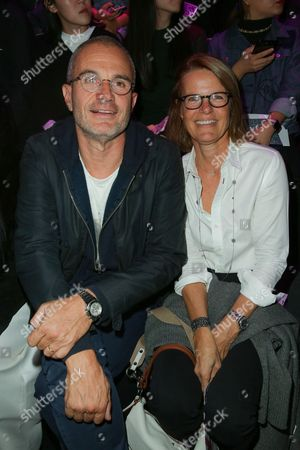 Laurent Weil and his wife Fiona