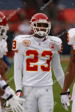Mike Richardson Kansas City Chiefs cornerback Mike Richardson warms up before facing the Denver Broncos in the first quarter of an NFL football game in Denver on