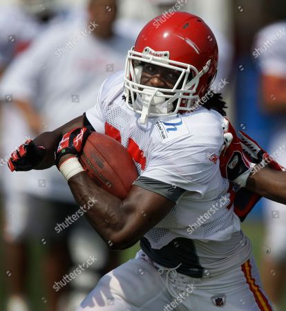 Jamaal Charles, Corey Mays Kansas City Chiefs running back Jamaal Charles getting past a teammate during NFL football training camp in St. Joseph, Mo. If Charles had made the most of his opportunity, he might be Kansas City's featured running back today, solidly established as the No. 1 guy