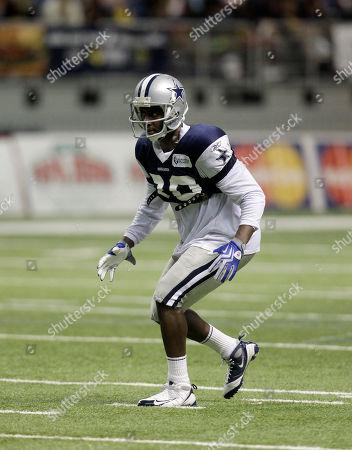 Jamar Wall Dallas Cowboys cornerback Jamar Wall (30) at Cowboys training camp, in San Antonio