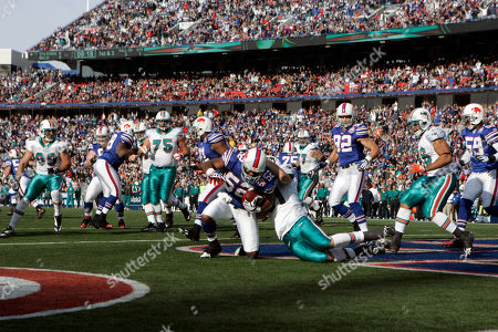 Editorial picture of Dolphins Bills Football, Orchard Park, USA