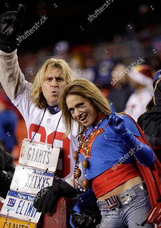 Editorial image of Giants Redskins Football, Landover, USA