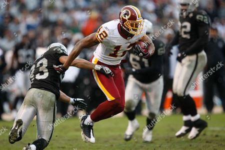 Malcolm Kelly Washington Redskins wide receiver Malcolm Kelly (12) in action during an NFL football game in Oakland, Calif