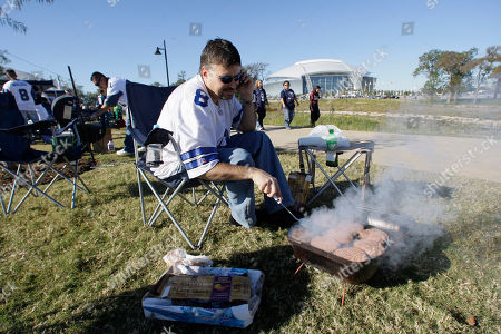 Roy Boyd Dallas Cowboys fan Roy Boyd tailgates prior to the start of an NFL game between the Seattle Seahawks and the Dallas Cowboys in Arlington,Texas