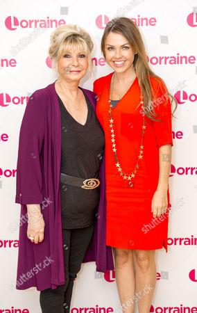 Adele Silva and Lesley