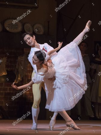 Editorial picture of 'La Fille mal Gardee' Ballet performed by the Royal Ballet at the Royal Opera House, London, UK, 27 Sep 2016