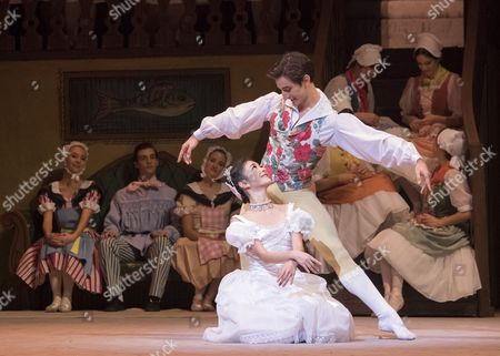 Stock Picture of Yuhi Chloe as Lise, Valentino Zucchetti as Colas