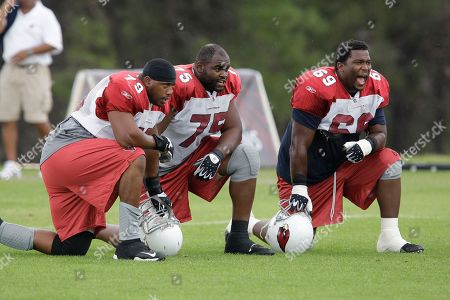 Editorial picture of Cardinals Camp Football, Flagstaff, USA