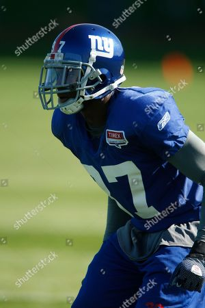 Clint Sintim New York Giants linebacker Clint Sintim in action during NFL football training camp in Albany, N.Y