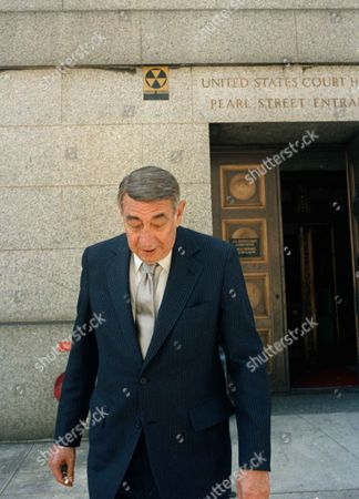 Howard Cosell Howard Cosell, leaves the United States Court House in New York after testifying at the USFL-NFL antitrust suit trial. Cosell said during the trial he had been told by his former boss, Roone Arledge, who ran ABC's sports and news division, that NFL Commissioner Pete Rozelle was unhappy with the network for giving the USFL a television contract