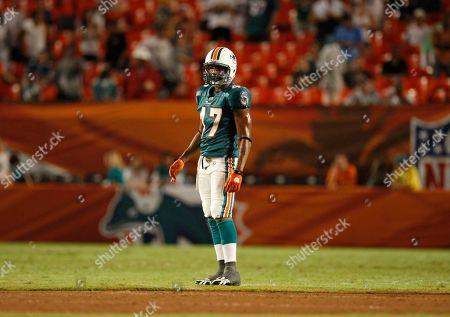 Brandon London Miami Dolphins' Brandon London during a NFL preseason football game against the Jacksonville Jaguars in Miami