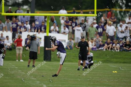 Editorial image of Ravens Camp Football, Westminster, USA