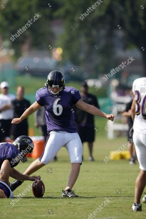 Editorial picture of Ravens Camp Football, Westminster, USA