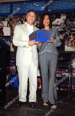 Jay Marciano with Olivia Harrison