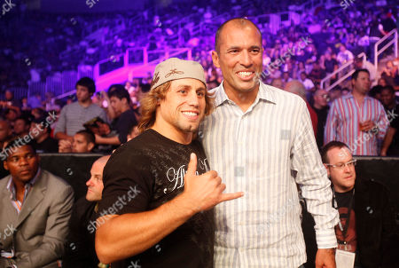 Urijah Faber, Royce Gracie Urijah Faber, left, and Royce Gracie at a Strikeforce mixed martial arts event, in San Jose, Calif