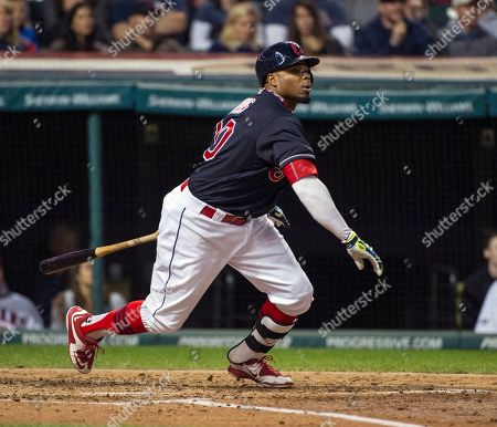 Rajai Davis Cleveland Indians' Rajai Davis watches his RBI single off Chicago White Sox starting pitcher Jose Quintana during the second inning of a baseball game in Cleveland