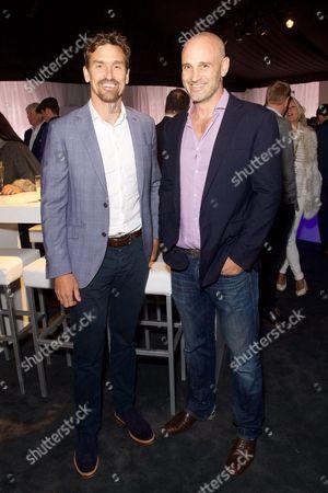 Kenton Cool and Ed Stafford