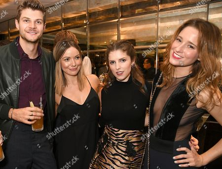Jim Chapman, guest, Anna Kendrick, Kelly Eastwood
