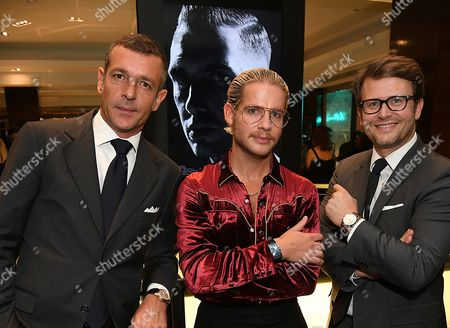 Editorial picture of Tiffany & Co. CT60 watch collection and GQ Style Autumn/Winter issue celebration, London, UK - 28 Sep 2016