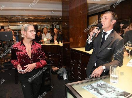 Editorial photo of Tiffany & Co. CT60 watch collection and GQ Style Autumn/Winter issue celebration, London, UK - 28 Sep 2016