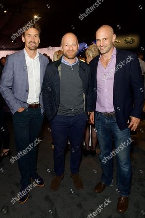 Kenton Cool, Ben Saunders and Ed Stafford