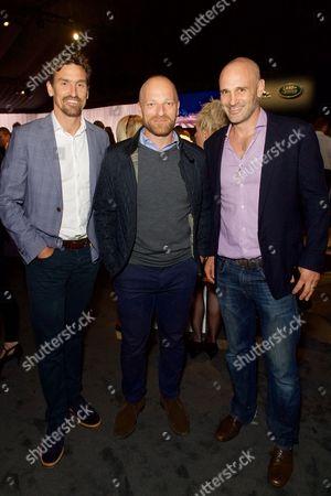 Stock Image of Kenton Cool, Ben Saunders and Ed Stafford