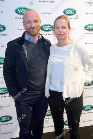Ben Saunders and Pip Harrison
