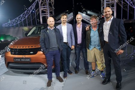 Editorial image of New Land Rover Discovery launch, London, UK - 28 Sep 2016