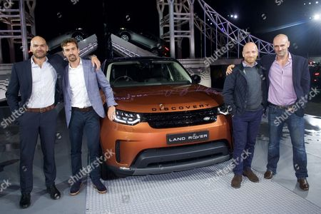 Editorial picture of New Land Rover Discovery launch, London, UK - 28 Sep 2016