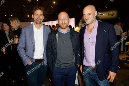 Stock Photo of Kenton Cool, Ben Saunders and Ed Stafford