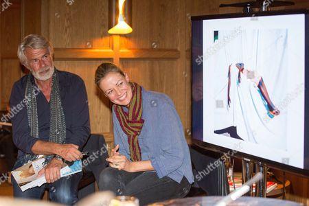 Stock Photo of Chris Dercon and Viviane Sassen