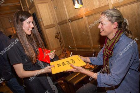 Viviane Sassen signing her books