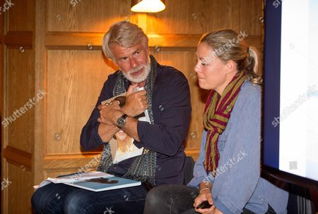 Editorial photo of Claire De Rouen and POP Magazine host a conversation between photographer Viviane Sassen and Director Emeritus Tate Modern Chris Dercon at The London Edition, London, UK - 28 Sep 2016.