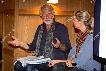 Editorial image of Claire De Rouen and POP Magazine host a conversation between photographer Viviane Sassen and Director Emeritus Tate Modern Chris Dercon at The London Edition, London, UK - 28 Sep 2016.