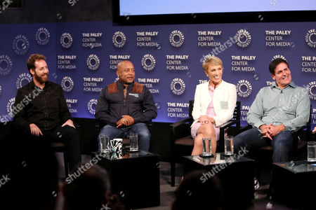 Editorial photo of The Paley Center For Media Presents Shark Tank: Pursuing The American Dream In Prime Time, New York, USA - 28 Sep 2016