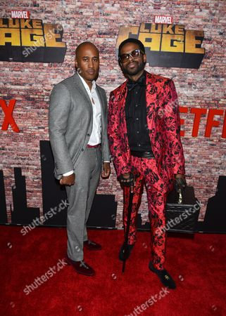 Stock Picture of Ali Shaheed Muhammed, Adrian Younge