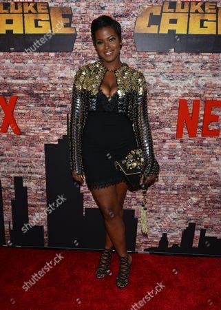 Editorial image of 'Luke Cage' Netflix TV series premiere, New York, USA - 28 Sep 2016