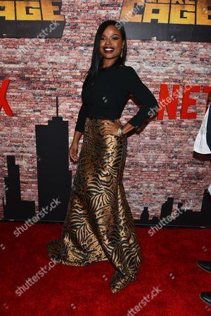 Editorial photo of 'Luke Cage' Netflix TV series premiere, New York, USA - 28 Sep 2016