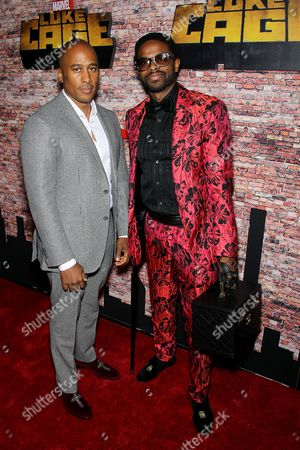 Editorial image of Netflix Premiere of Marvel's 'Luke Cage' in Harlem, New York, USA - 28 Sep 2016