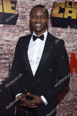 Editorial picture of 'Luke Cage' Netflix TV series premiere, New York, USA - 28 Sep 2016