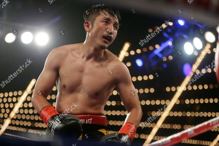 Jozsef Ajtai, Zou Shiming Zou Shiming, of China, fights Jozef Ajtai, of Hungary, during the eighth round of a WBO flyweight title boxing match, in New York. Zou Shiming, of China, won the fight