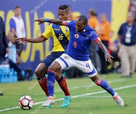 Editorial image of Copa America Centenario Soccer Haiti Ecuador, East Rutherford, USA