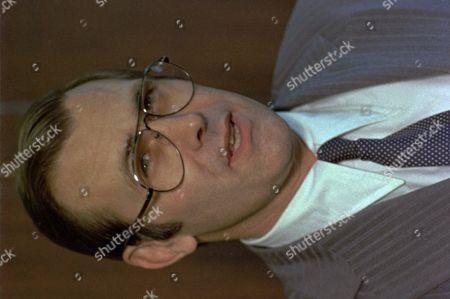 DONALD RUMSFELD A 1976 photo of Secretary of Defense Donald Rumsfeld