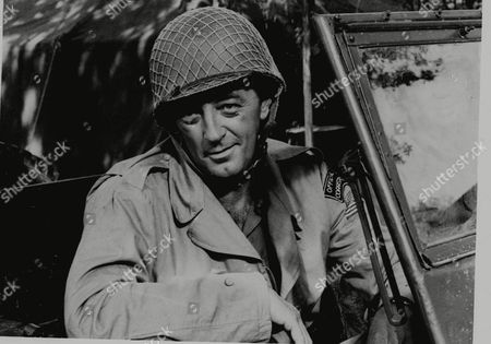 """MITCHUM Robert Mitchum is shown in his role in """"Anzio"""" in this undated photo"""